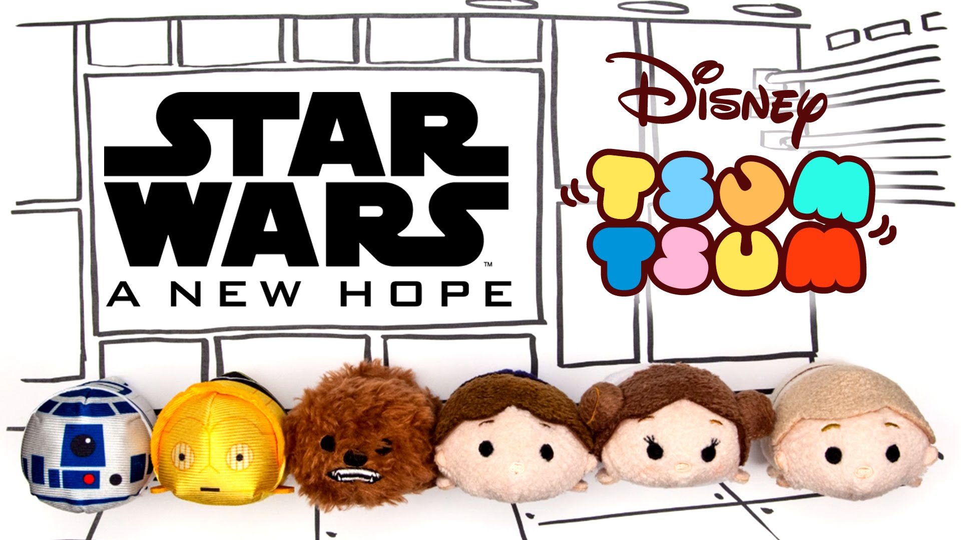 """""""Star Wars: A New Hope"""" As Told By Tsum Tsum – VIDEO"""