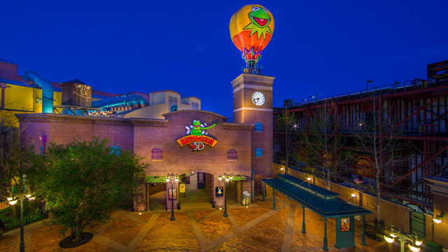 Muppet's Courtyard Comes To Hollywood Studios