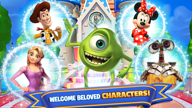 Disney Magic Kingdoms Out Now On IOS