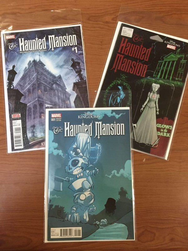 GIVEAWAY: Disney Kingdom's Haunted Mansion #1 w/ Variant Covers