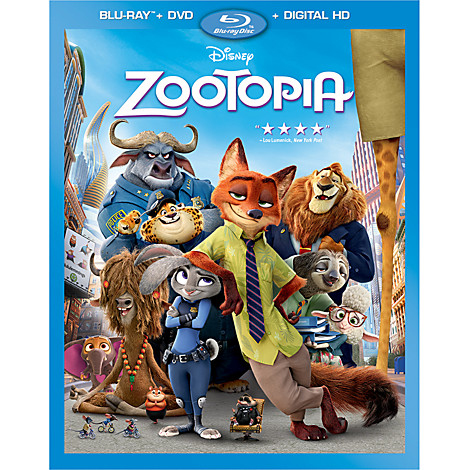 Zootopia Coming Soon To Home Video