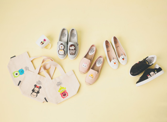 Tsum Tsum Shoe Collection Released In Taiwan