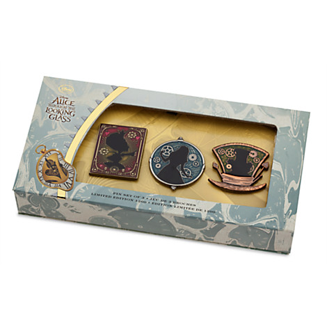 Alice Through the Looking Glass Limited Edition Pin Set Out Now