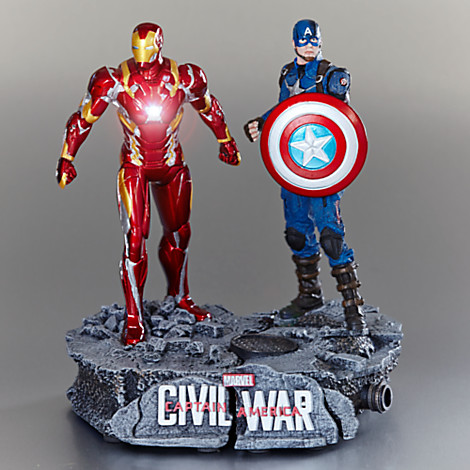 Captain America and Iron Man Limited Edition Figure Set Out Now