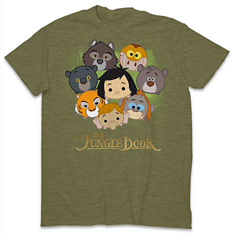 The Jungle Book Tsum Tsum Limited Release T-Shirts Out Now