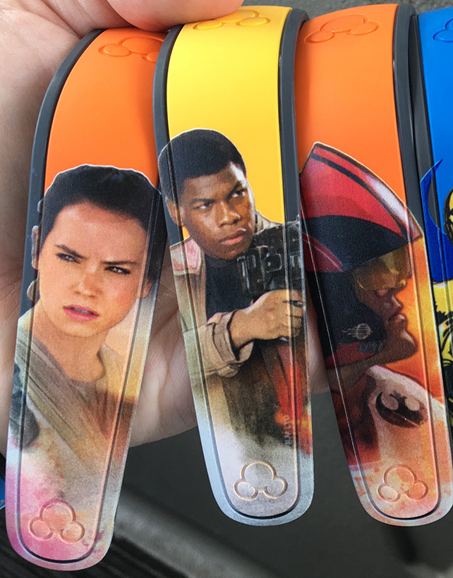 New Star Wars: The Force Awakens MagicBands On Demand Available