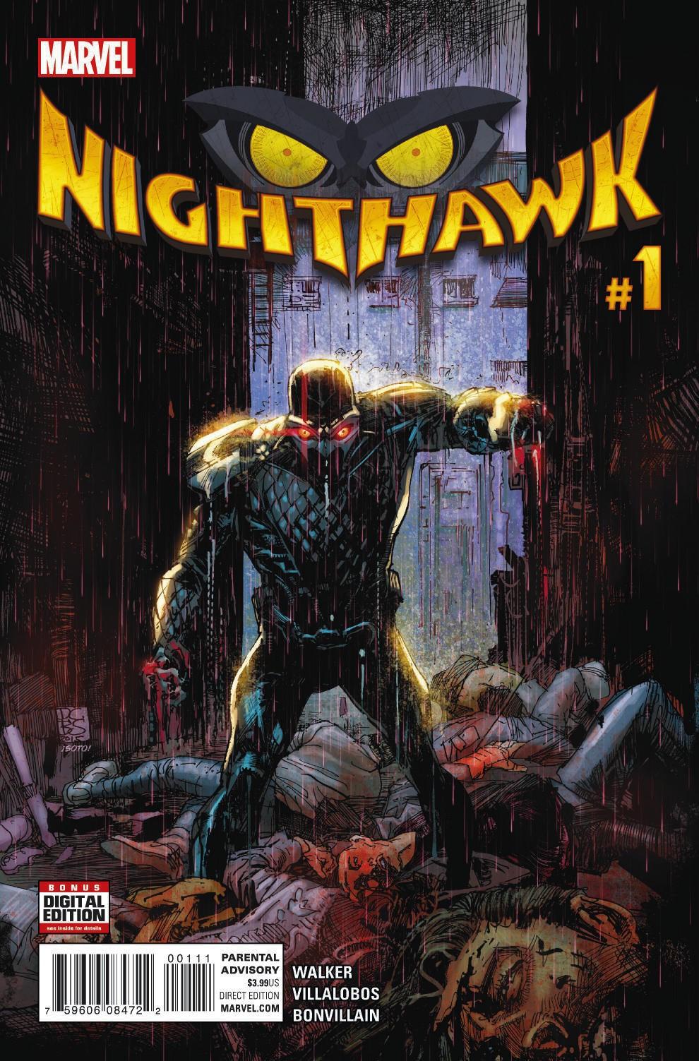 Meaner. Nastier. Deadlier. Your New Look at NIGHTHAWK #1!
