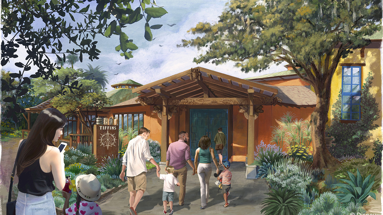 The Animal Kingdom's Tiffins Restaurant To Open On Memorial Day