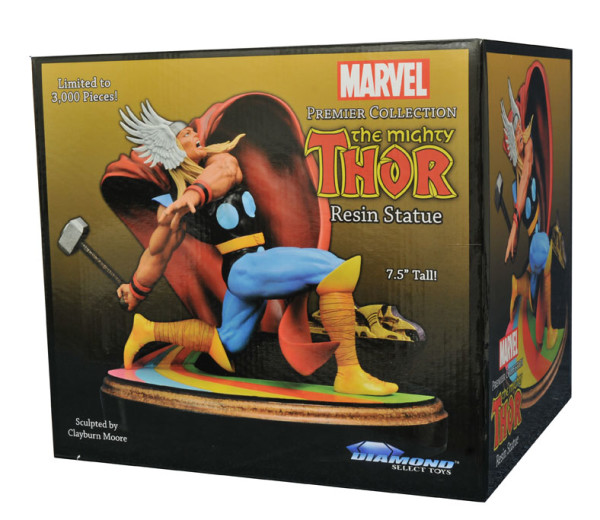 Out Today: Diamond Select's Marvel Premier Collection Thor Resin Statue