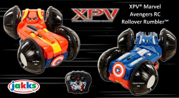 Details on JAKKS Pacific's XPV Marvel RC Rollover Rumbler
