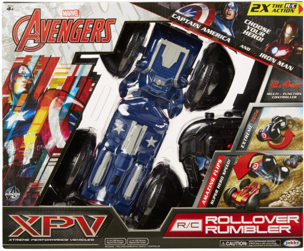 XPV Rollover Rumbler Captain America side. IP. highres
