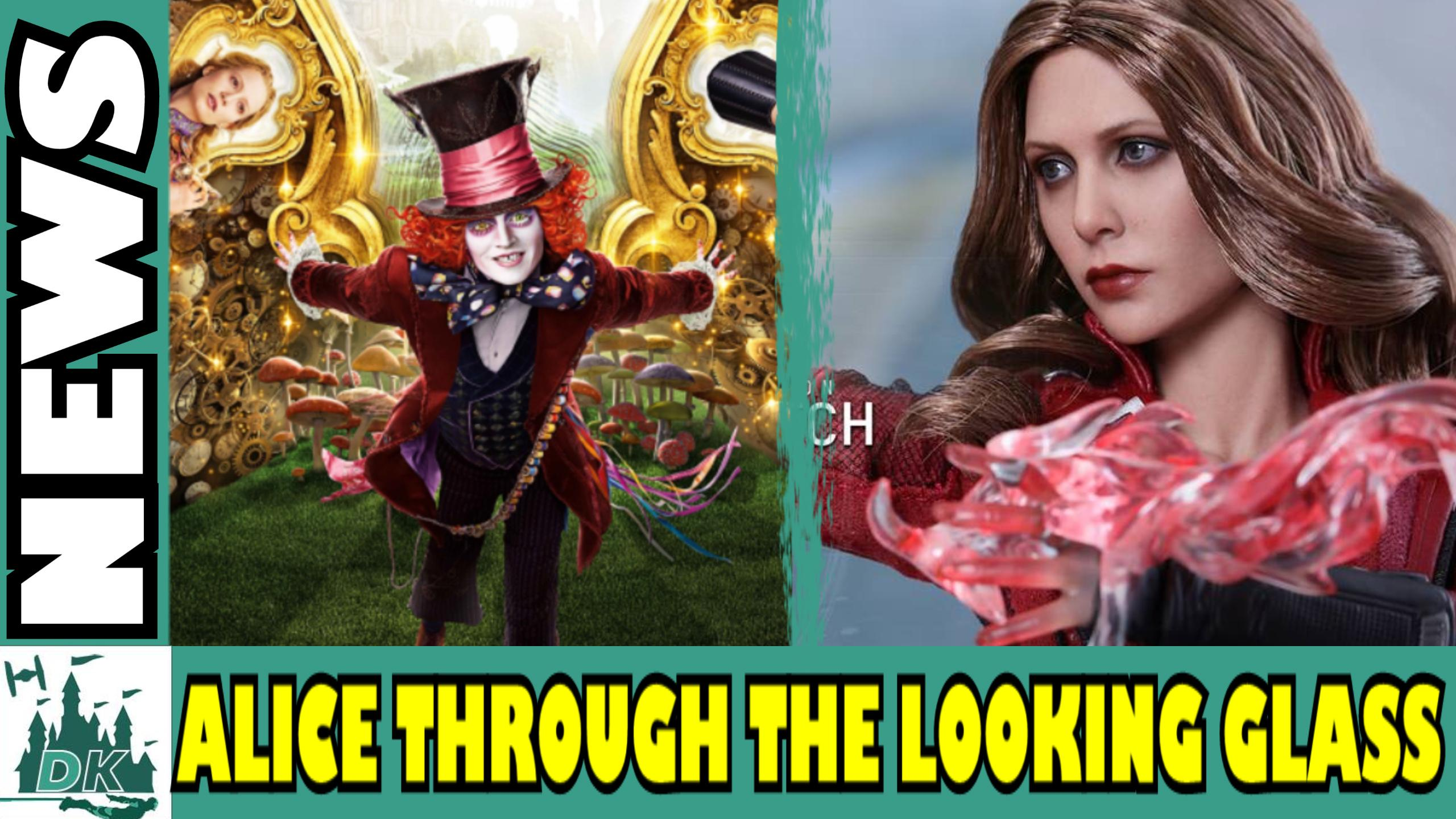 Alice Through The Looking Glass Disney Infinity Possible Release Date + Civil War Hot Toys | Daily News