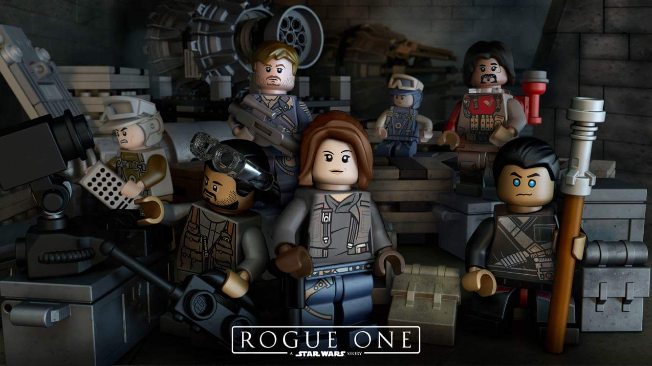 Rogue One: A Star Wars Story LEGO Minifigures Teased
