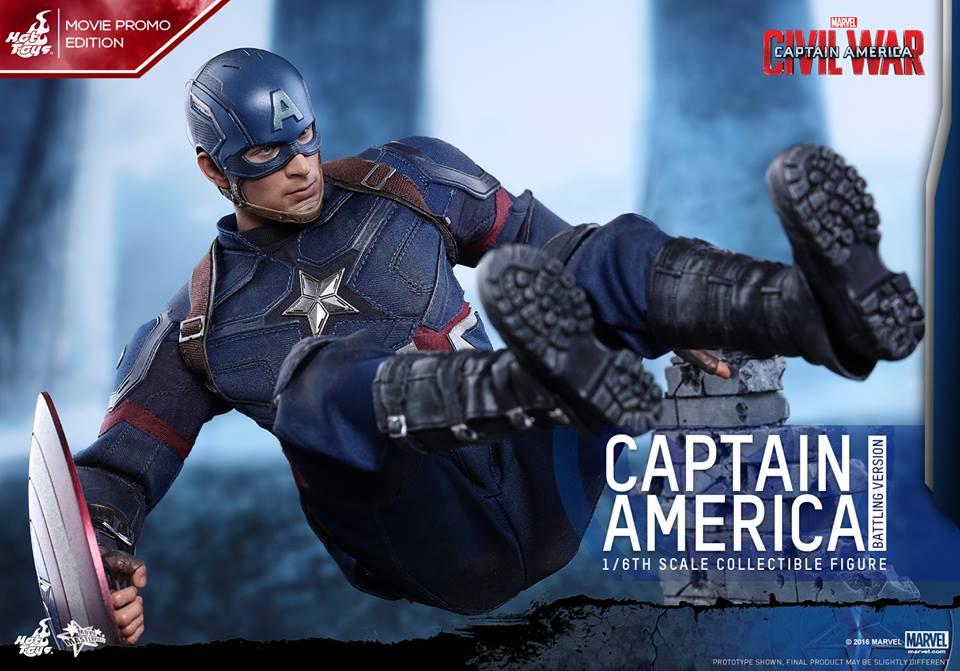 Captain America: Civil War Battling Version Figure Coming Soon