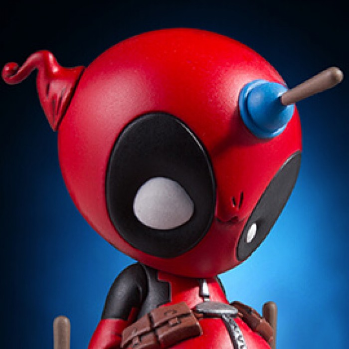 Animated Deadpool Statue Coming Soon