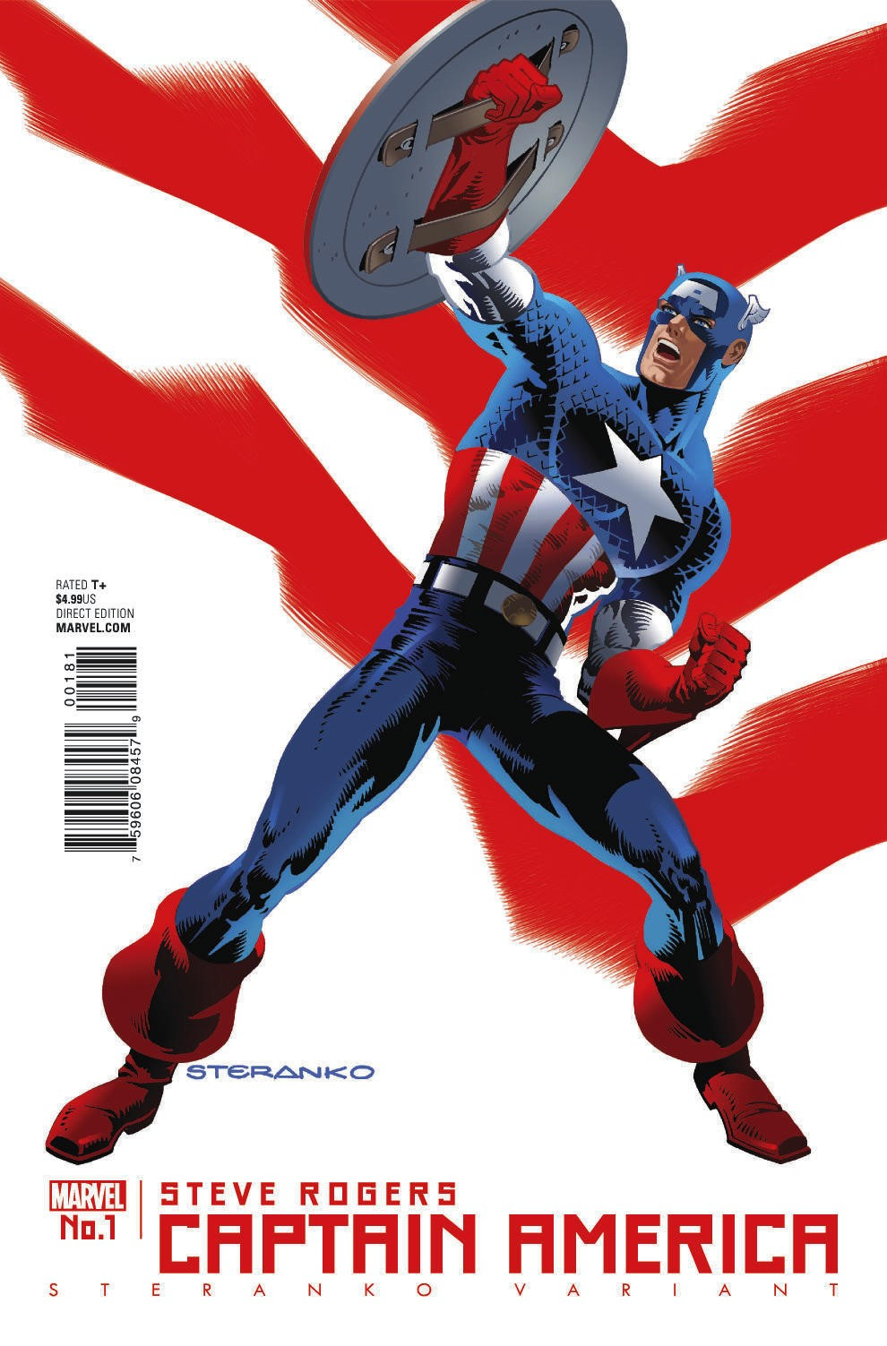 CAPTAIN AMERICA: STEVE ROGERS #1 Returns to Action this May!