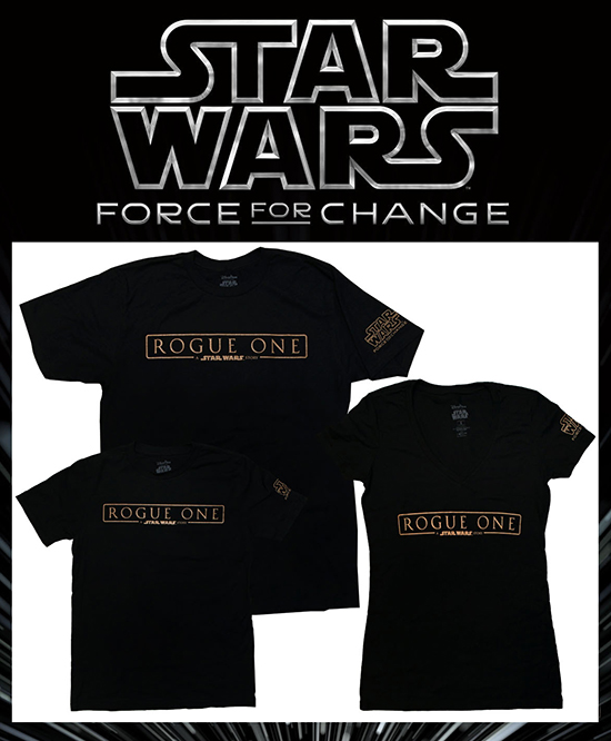 Rogue One: A Star Wars Story T-Shirts Coming Soon