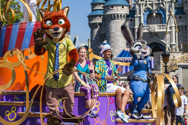Zootopia's Nick & Judy Debut At The Magic Kingdom