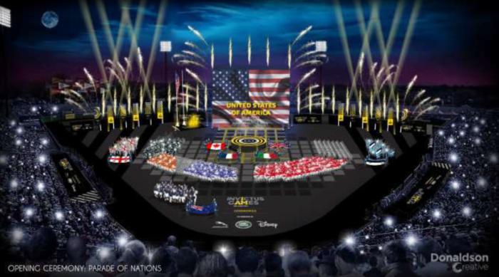 Invictus Games Orlando 2016 Opening Ceremony Details Announced