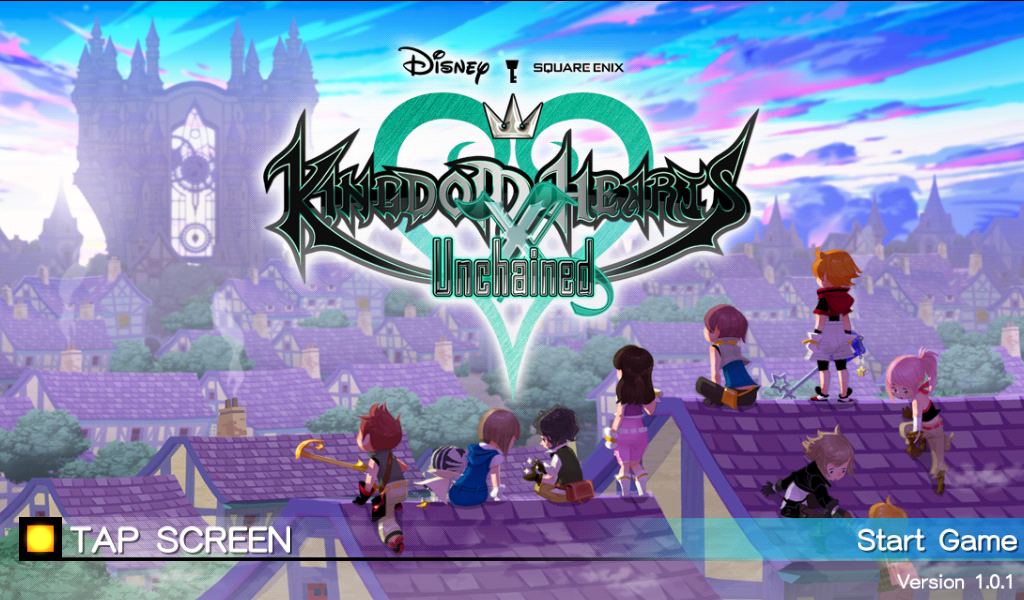 Pre-Registering For Kingdom Hearts Unchained χ On Android Now Available