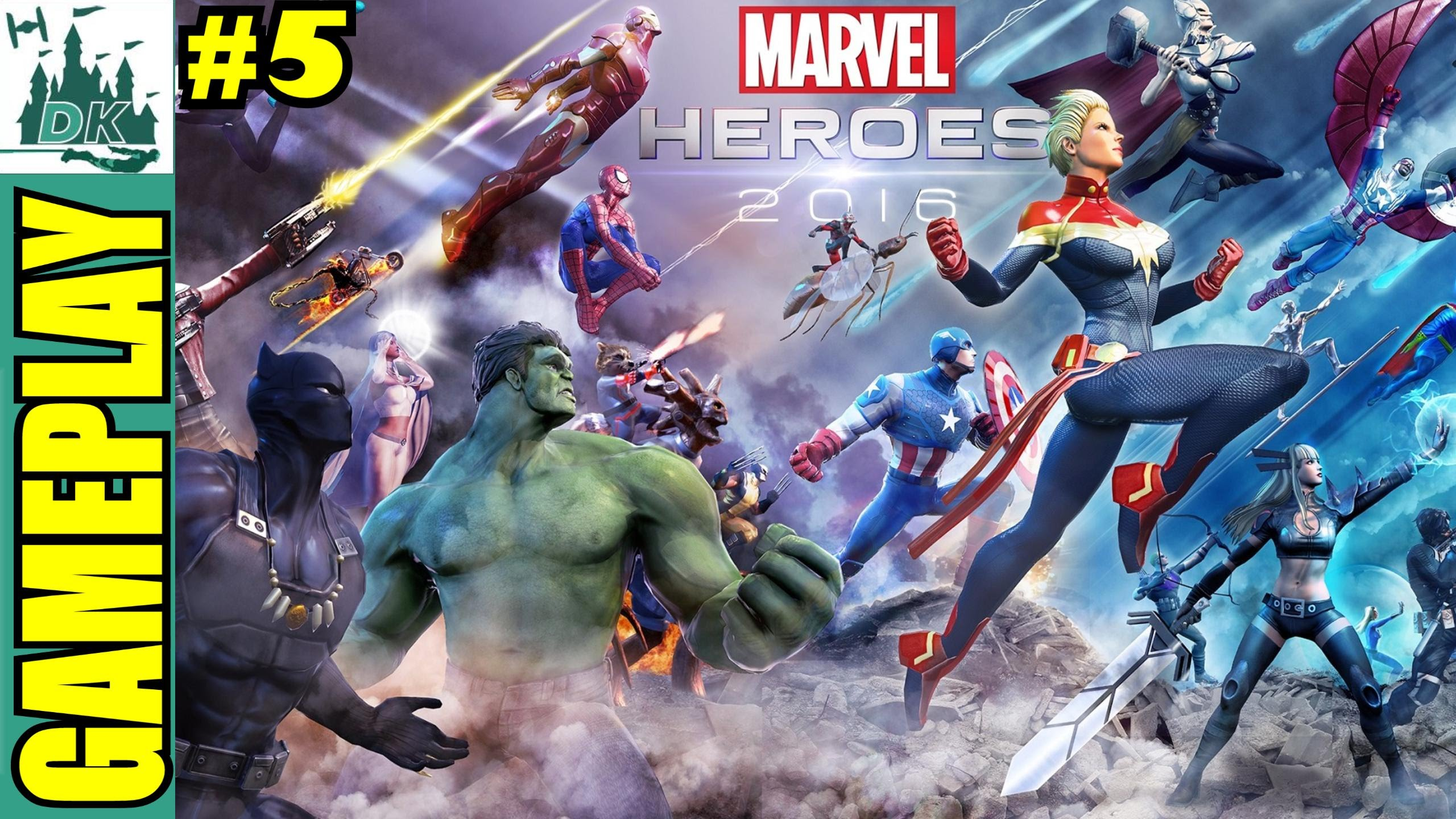 Marvel Heroes 2016 | Day 5 Cyclops | Let's Play