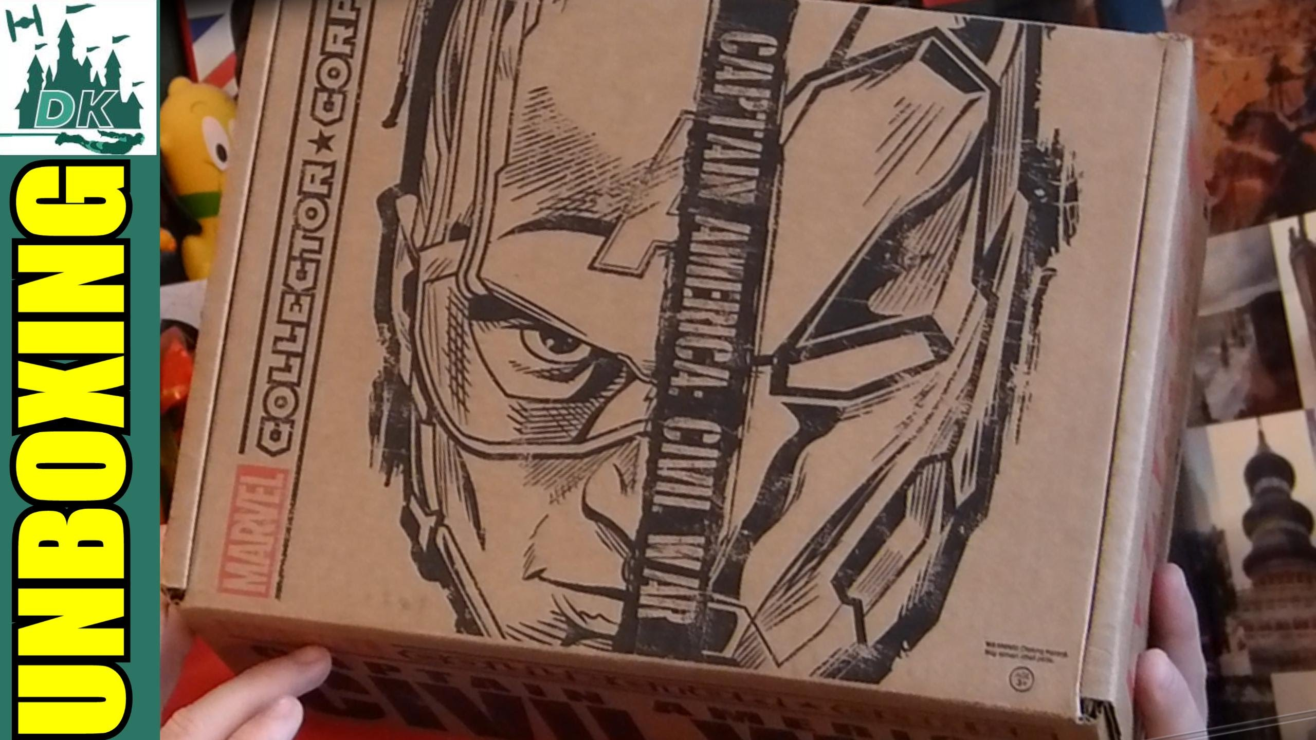 CIVIL WAR  Marvel Collector Corps Unboxing