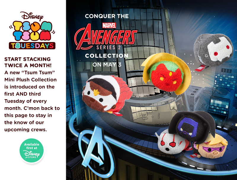The Avengers Series 2 Tsum Tsum Collection Out Now