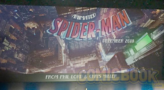 Animated Spider-Man Movie Logo Revealed