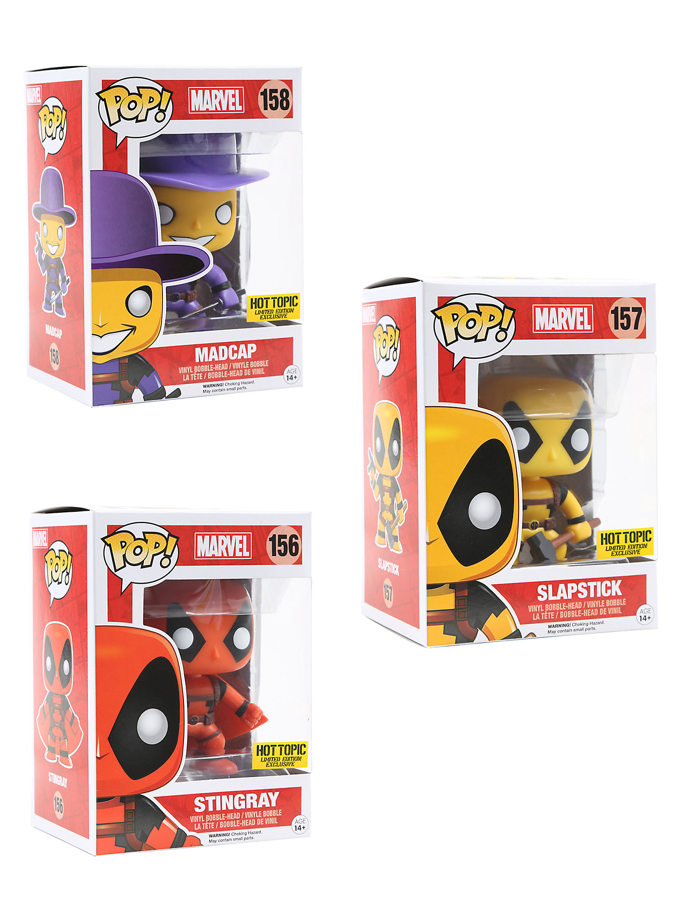 Deadpool Pop Vinyl Mystery Blind Box Out Now