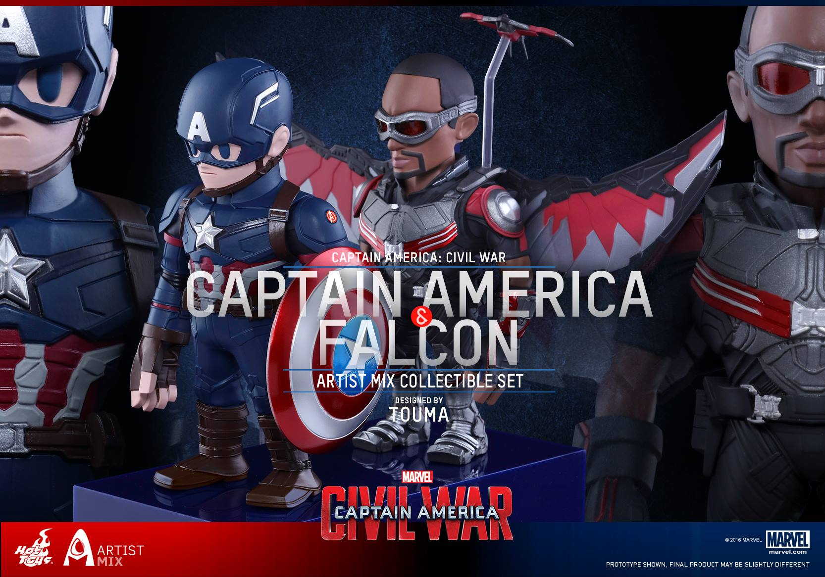 Captain America: Civil War – Artist Mix Collectible Bobble-Heads Coming Soon