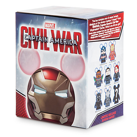 And The Marvel Civil War Vinylmation Chaser Is?