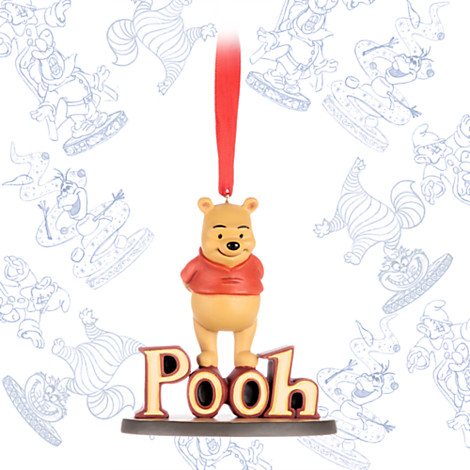 Winnie The Pooh Sketchbook Ornament Out Now