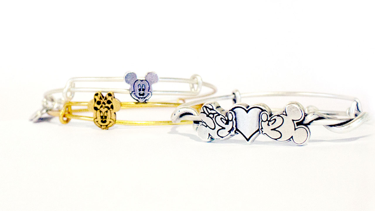 New Mickey and Minnie Alex and Ani Bangles debut at Disney Parks