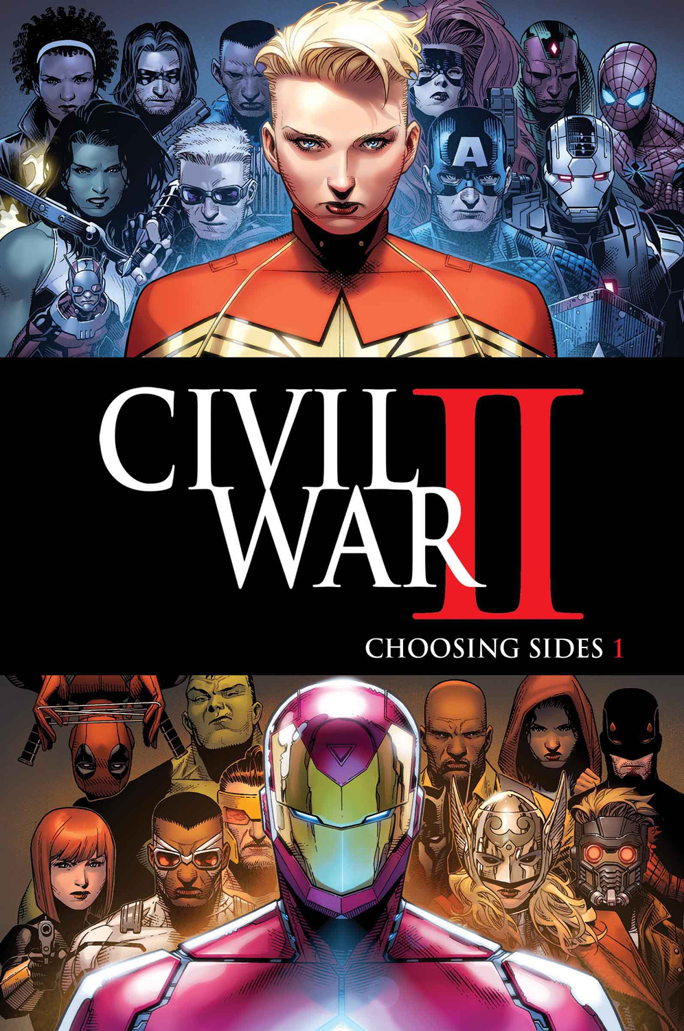 Protect the Future or Change The Future? Your First Look at CIVIL WAR II: CHOOSING SIDES #1!