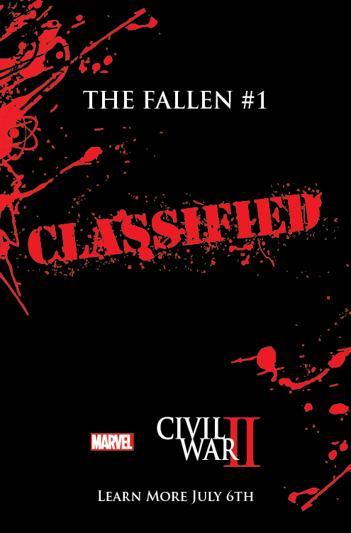 Civil War II: The Fallen & The Accused One Shots Coming Soon