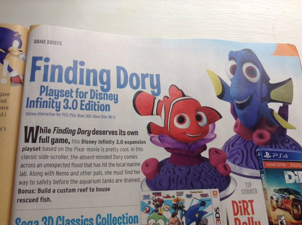 More Details On The Disney Infinity Finding Dory Play Set
