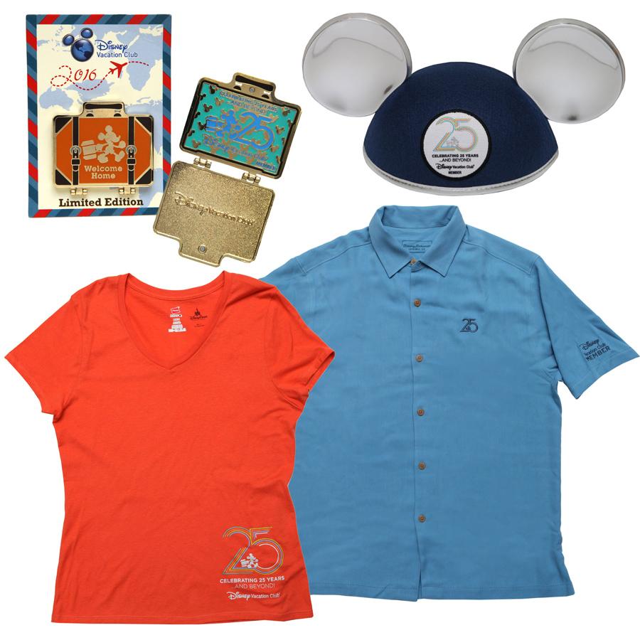 DVC 25th Anniversary Merchandise Preview
