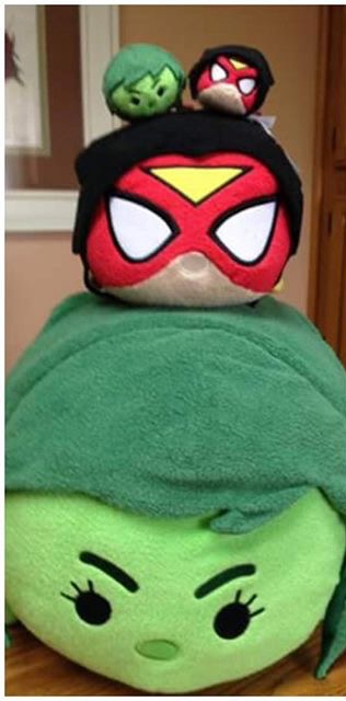 She-Hulk & Spider-Woman Tsum Tsum's Discovered