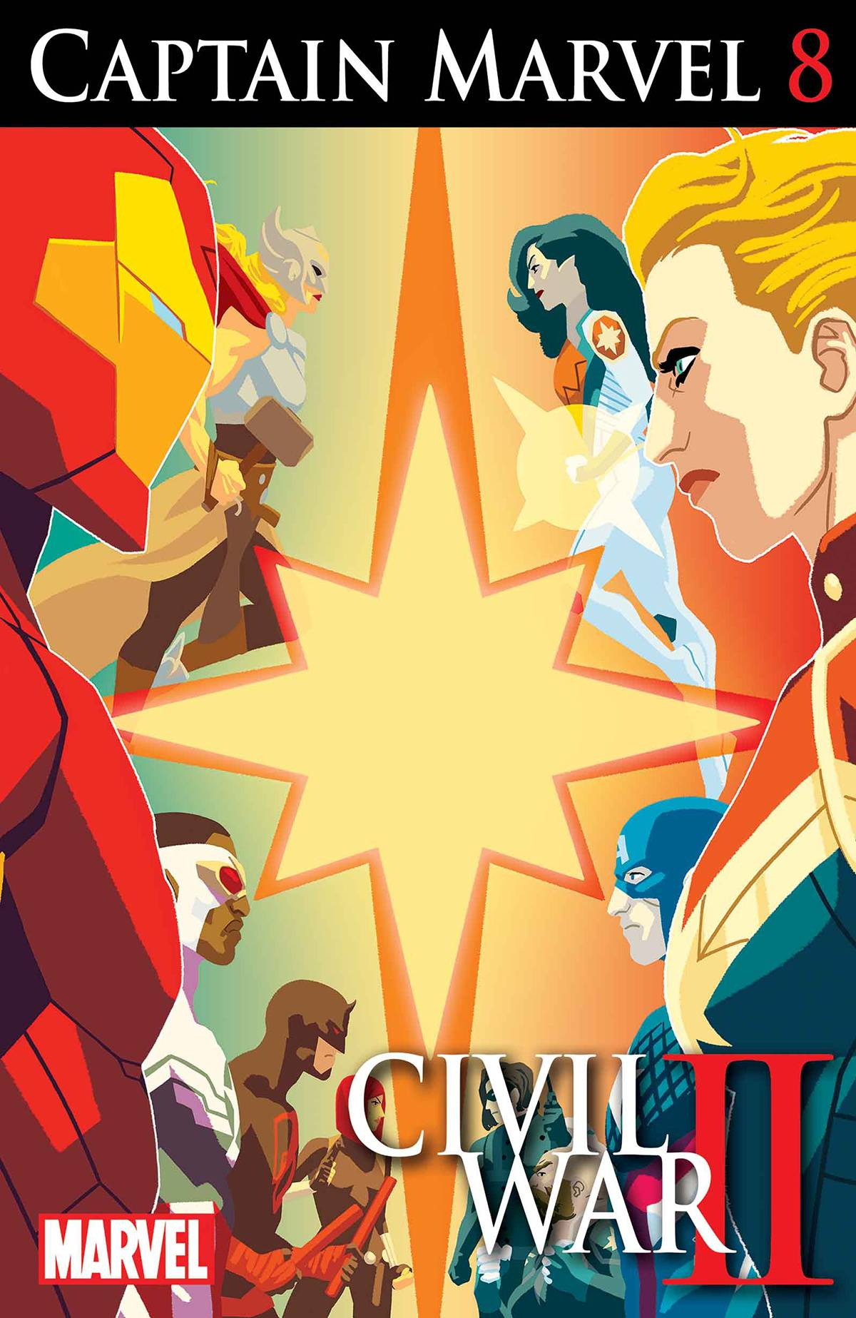 Marvel Comics August 2016 Solicits