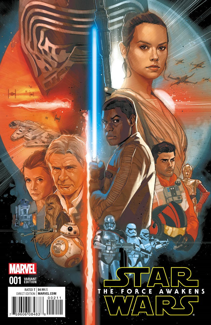 STAR WARS: THE FORCE AWAKENS #1 Brings the Blockbuster Film to Comics This June!