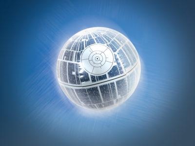 SwimWays Death Star Beach Ball