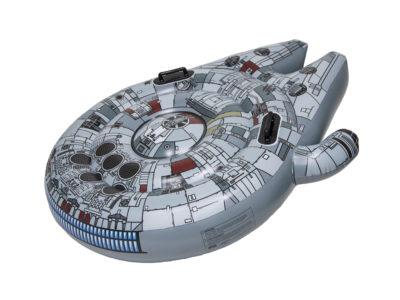 SwimWays Star Wars Millenium Falcon Ride On