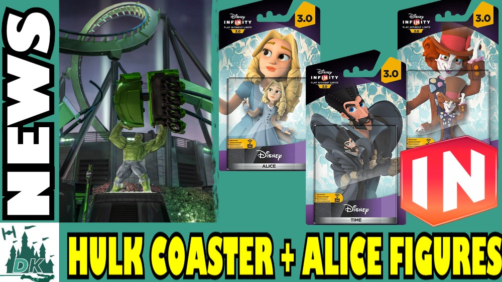 Disney Infinity 3.0 Alice Through The Looking Glass Figure Latest  | DK News