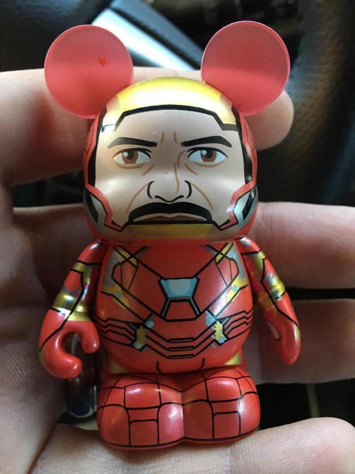 Civil War Iron Man Unmasked Variant Vinylmation Discovered