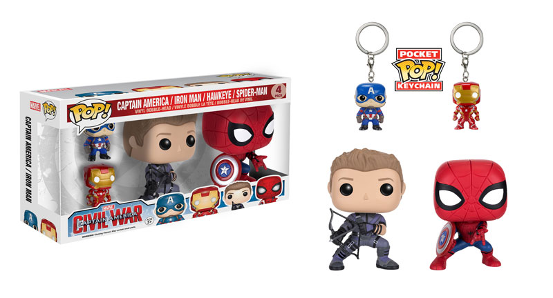 Civil War Funko Box Set Coming Soon