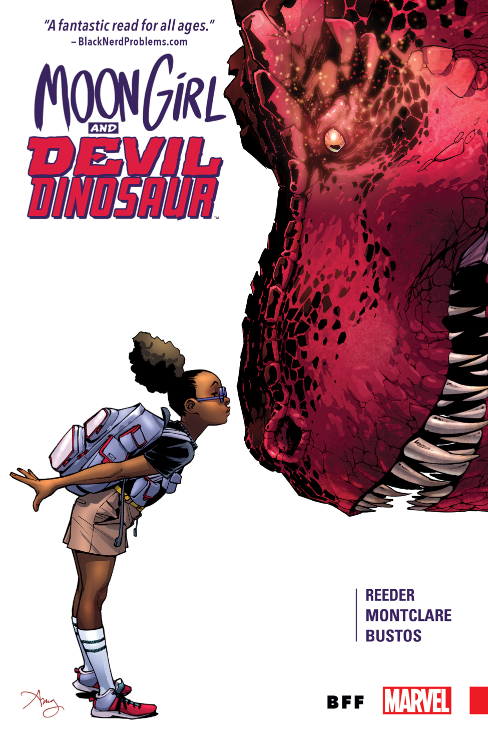 Marvel's Moon Girl & Devil Dinosaur Wins 2016 Glyph Award