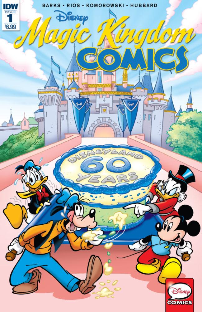 Disney Longbox Reviews : Disney Magic Kingdom Comics #1 of 2 REVIEW