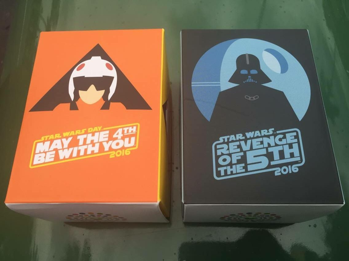 Star Wars May The 4th & Revenge Of The 5th Merchandise Out Now