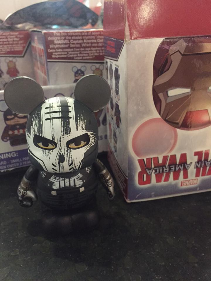 And The Marvel Civil War Vinylmation Chaser Is