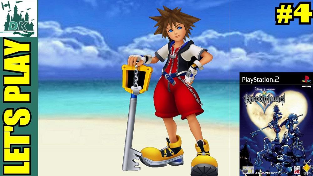 Running Around Destiny Island | Kingdom Hearts Let's Play #4